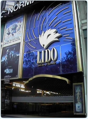 The Lido, Paris  An American friend of mine was in the show and I got to go see him!