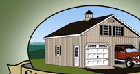Stoltzfus Structures - Amish storage and garden sheds - highly recommended by High Street Market
