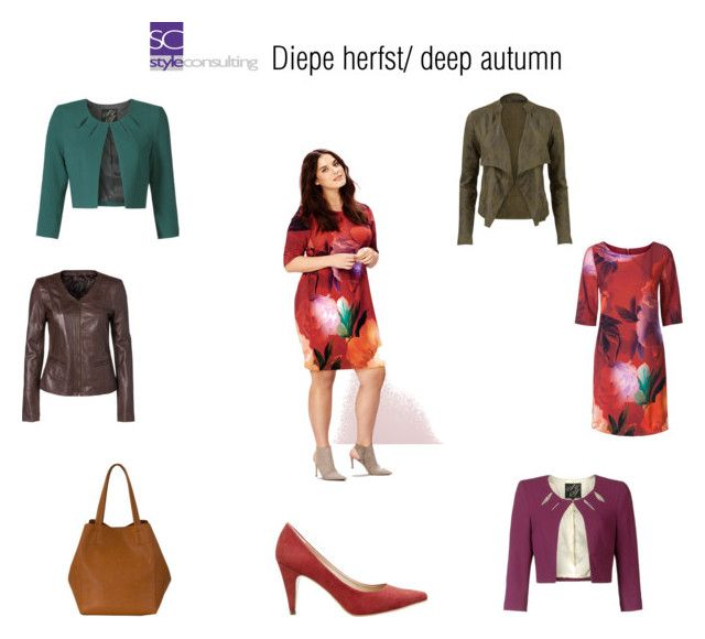 """Diepe herfst/ Deep autumn color type."" by roorda on Polyvore featuring mode"