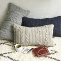 Braided Cable Pillow Cover | west elm