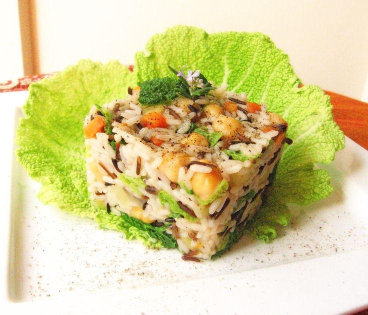Le Ricette del Bosco Fatato: Cubotto di riso selvaggio alle spezie ayurvediche