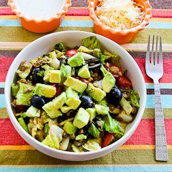 Kalyns Kitchen®: Recipe for Vegetarian Lentil Taco Salad with ...