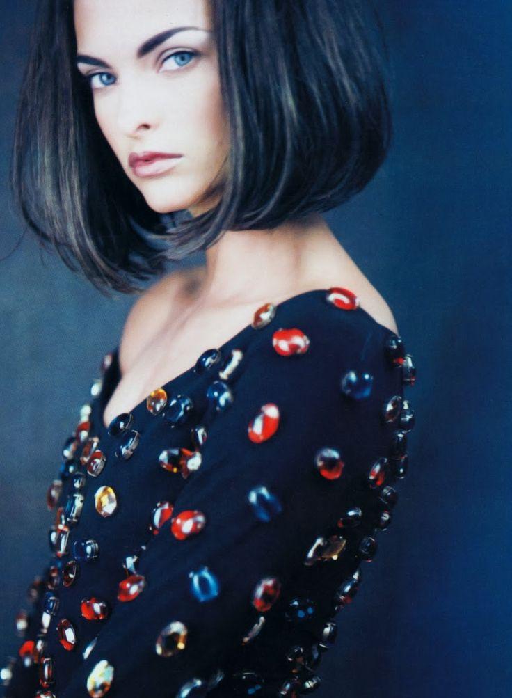 Linda Evangelista by Paolo Roversi for Vogue Paris