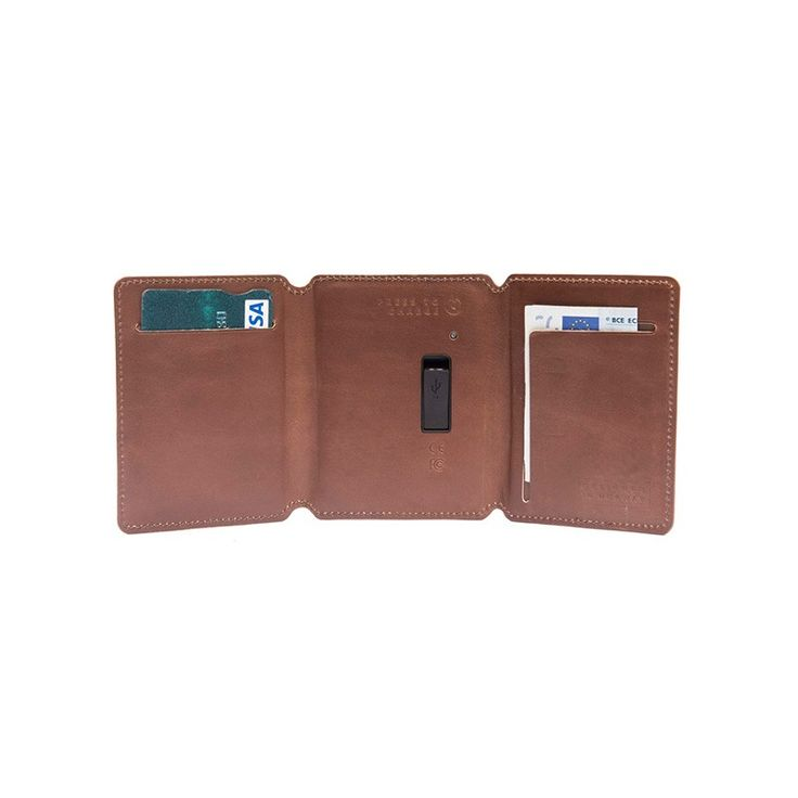 The Seyvr Power Saver Wallet Lightning (Brown) offers the three essentials in life,  your keys, your wallet, and your phone. With SEYVR you can charge your phone on the spot, whenever you need it.