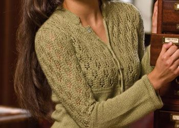 Knit Lace Pattern: Henley Perfected by Connie Chang Chinchio