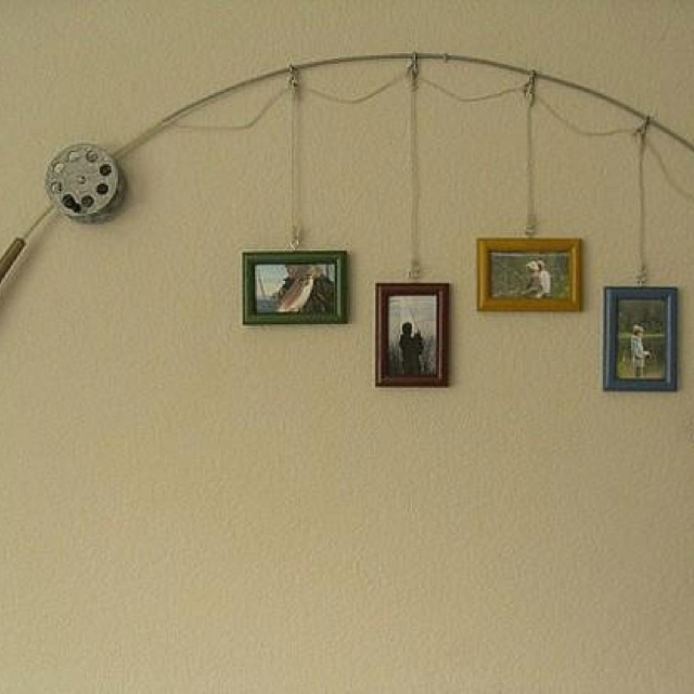 11 best fishing man cave images on pinterest fishing for Fishing decor for man cave