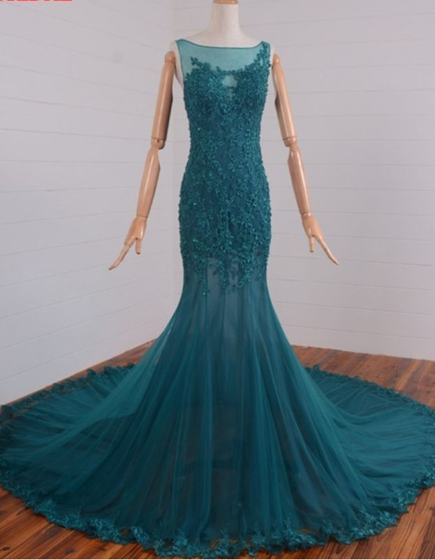 The mermaids rent tuxedos and evening gowns in