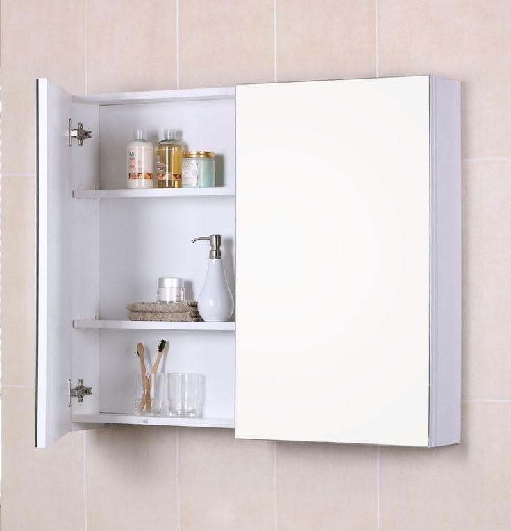 The 25 Best Bathroom Mirror With Shelf Ideas On Pinterest