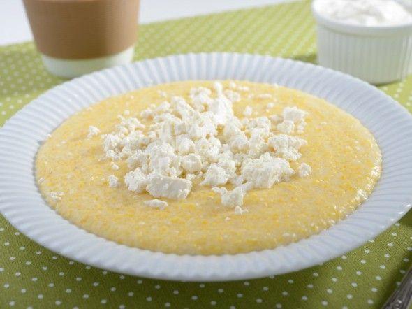Polenta con formaggio 8-10 mesi