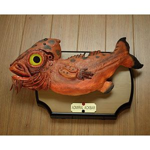 ThinkGeek :: Star Wars Admiral Ackbar Singing Bass - some day this will be a reality, and will be a Christmas gift for dad.... hopefully
