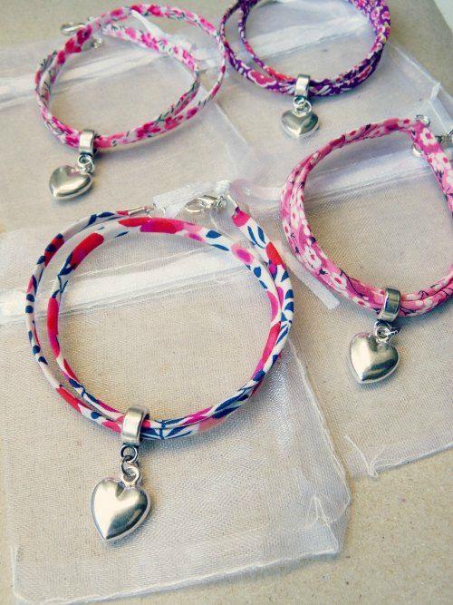 Bracelet Liberty #idée_cadeau de la mariée à ses témoins #mariage