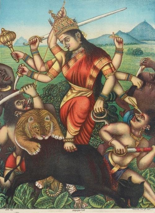 Rare pix of Durga