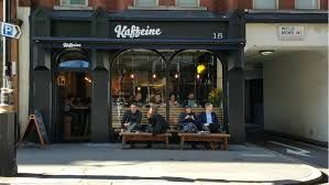 Kaffeine Coffee Shop in London. This coffee shop is gaining world-wide attention for their specialty coffee.