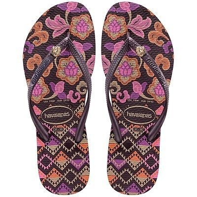 Havaianas-Slim-Royal-Purple-Womens-Flip-Flops-Authentic-Brazil-Thongs-Sandals