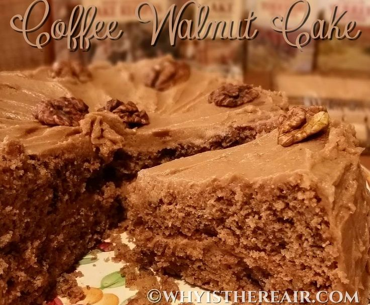 Recipe Coffee Walnut Cake by Madame Thermomix - Recipe of category Baking - sweet
