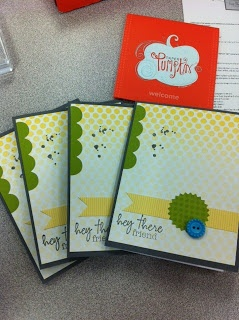 Creatively Gemini Blog - Paper Pumpkin kit from Stampin' Up!