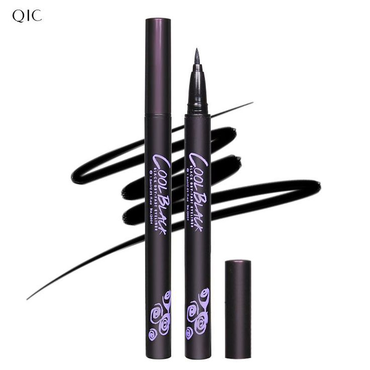 YANQINA 1 Pcs New Hot selling Waterproof Lasting Black Eyeliner Pen Beauty Eye Liner Pencil Big Eye Black Eyes Makeup Tools
