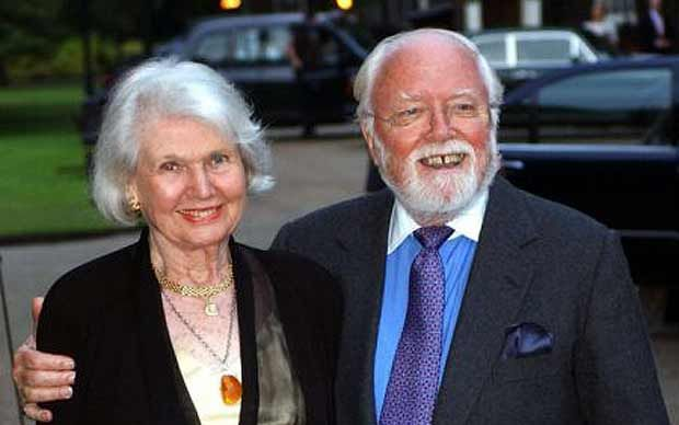 Lord Attenborough's family rally round as Sheila Sim is hit by illness - Telegraph