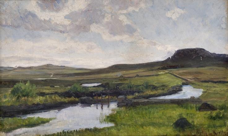 Kitty Kielland (1843-1914): Jærlandskap