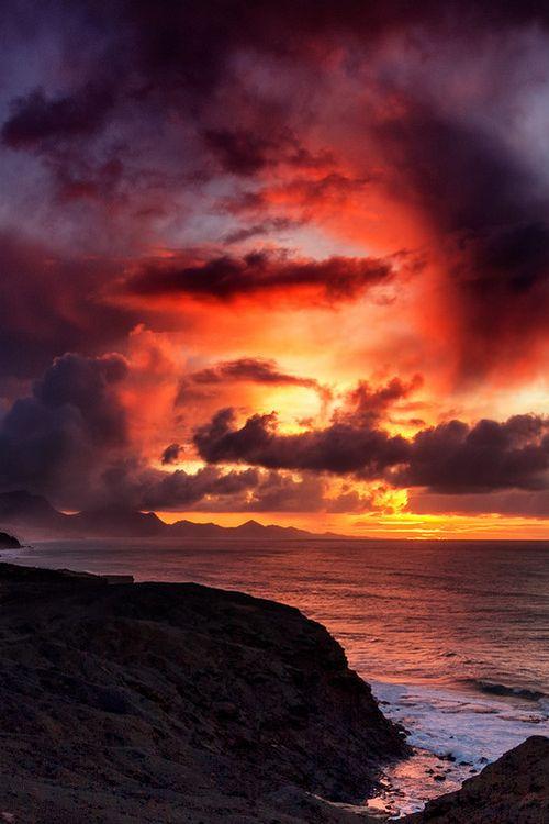 Jandía, Fuerteventura, Canary Islands. by Pedro López Batista