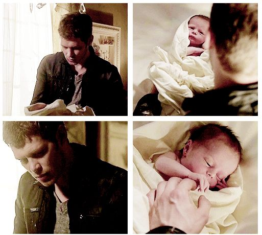 """the originals - Klaus and Hope,  so Precious,  Glad he did what he did!!!!  he is a pretty special """"dad""""..."""