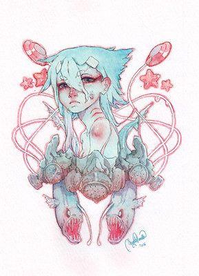 BLUE Watercolor (formato A4) |