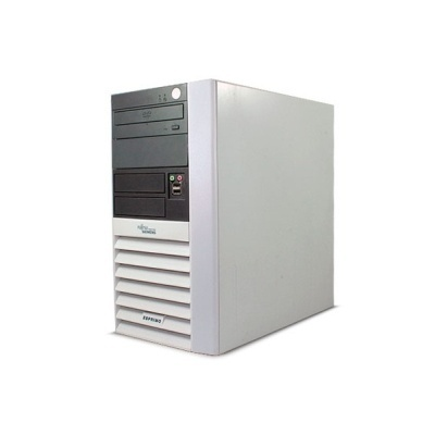 AMD Athlon 64 X2 4800+ 2500 MHz, 2 GB DDR 2, HDD 80 GB, DVD-ROM, Calculator Second Hand Fujitsu Siemens P5615 MT