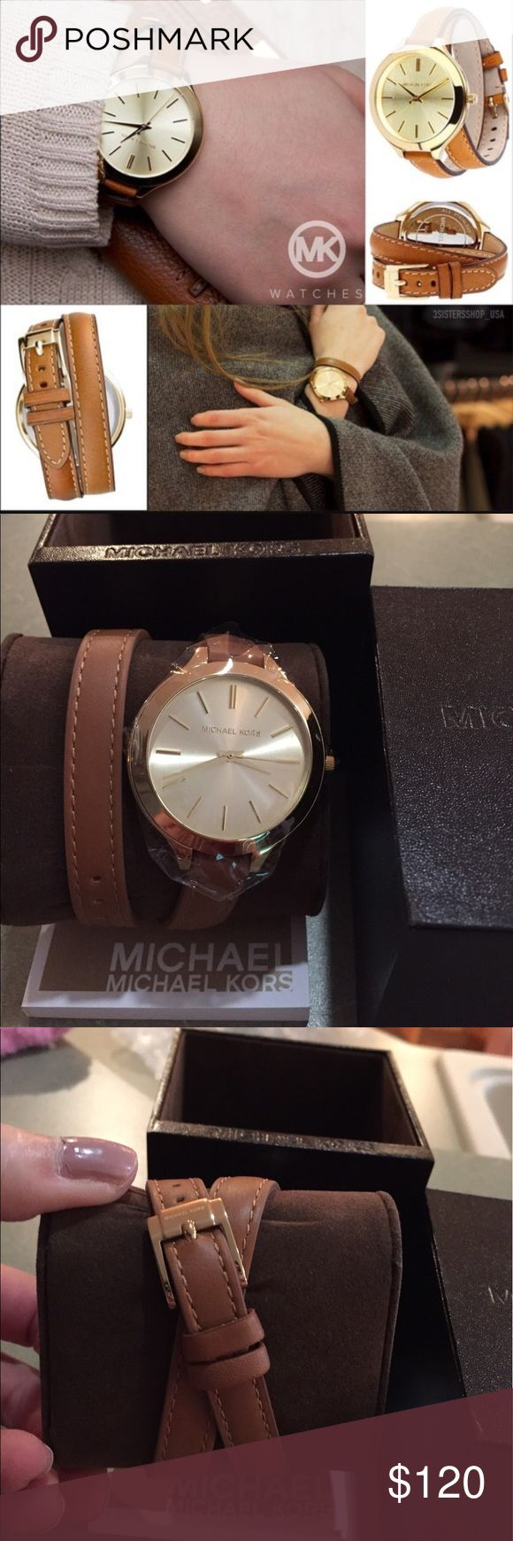 New Authentic Michael Kors Runway watch Brand new. Plastic still on the face. Michael Kors Accessories Watches