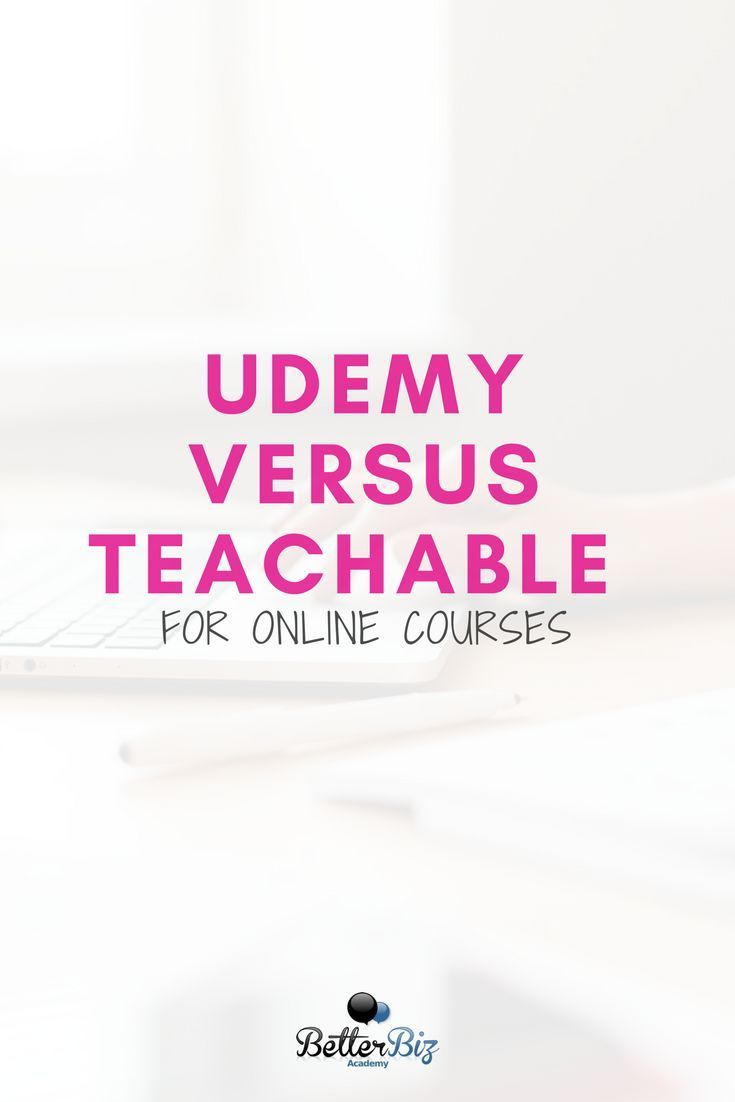 udemy versus teachable for online courses create your online