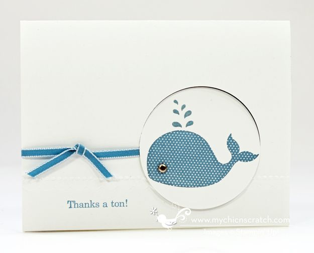 Oh Whale Stamp Kit of the Month Card