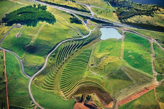 National Arboretum Canberra, by Taylor Cullity Lethlean with Tonkin Zulaikha Greer Architects 2013.