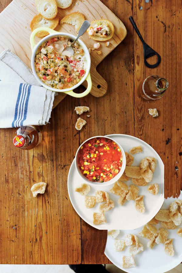 Warm Gumbo Dip - 32 New Orleans Classics for Mardi Gras - Southernliving. Just like any good Louisiana gumbo, this dip is thick and full of flavor.Recipe: Warm Gumbo Dip