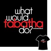 Well, what would Tabatha do? Who would of thought! Lol must get this for my daughter. Even the spelling us right!