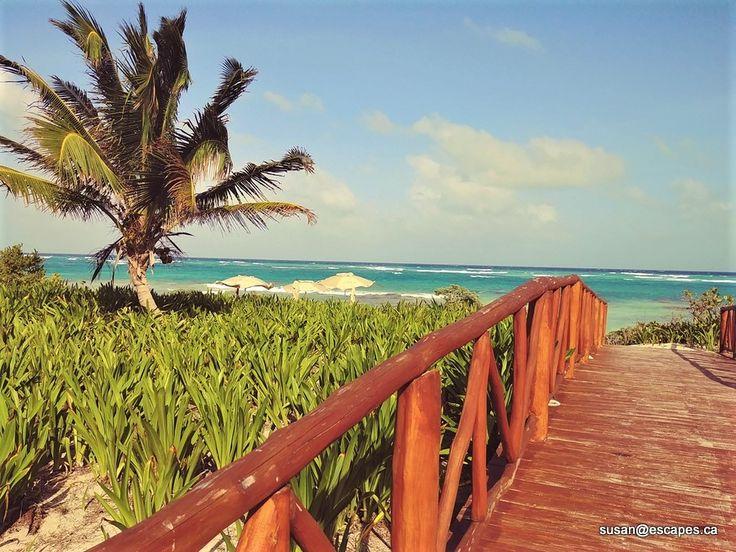unico 2087. Boardwalk to beach