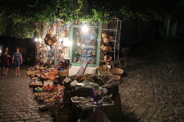 Towards evening in Agiasos