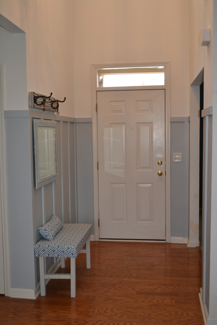 Board and Batten - for entryway?