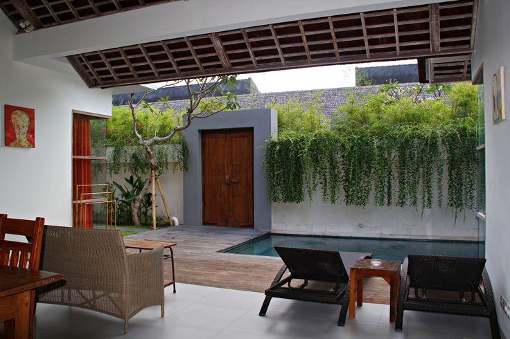 2 Bedroom Balinese villa with private pool for rent at The Decks Bali Villas, Legian, Bali. #Bali #Indonesia #travel