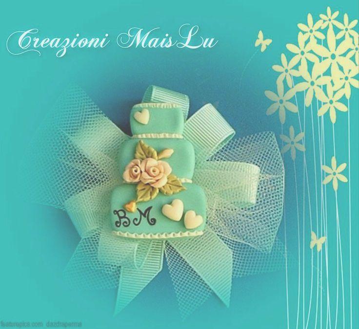 Mini wedding cake calamita