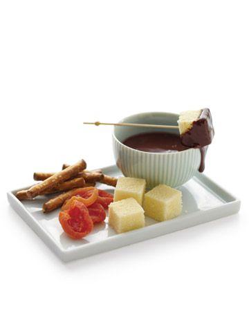 individual fondue plates