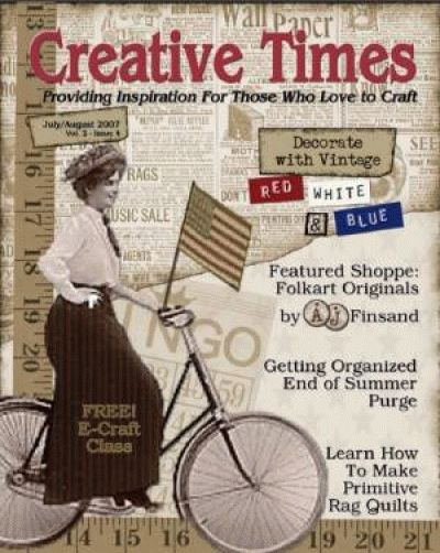 Free Creative Times Magazine DIY articles and tutorials.