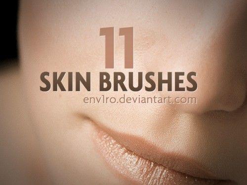 brushes photoshop piel 1 500x375 19 Paquetes de brushes photoshop gratuitos
