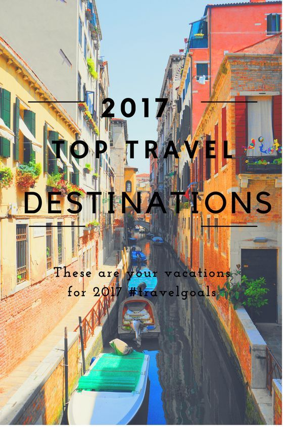 Ultimate Guide to 2017's Top Travel Destinations