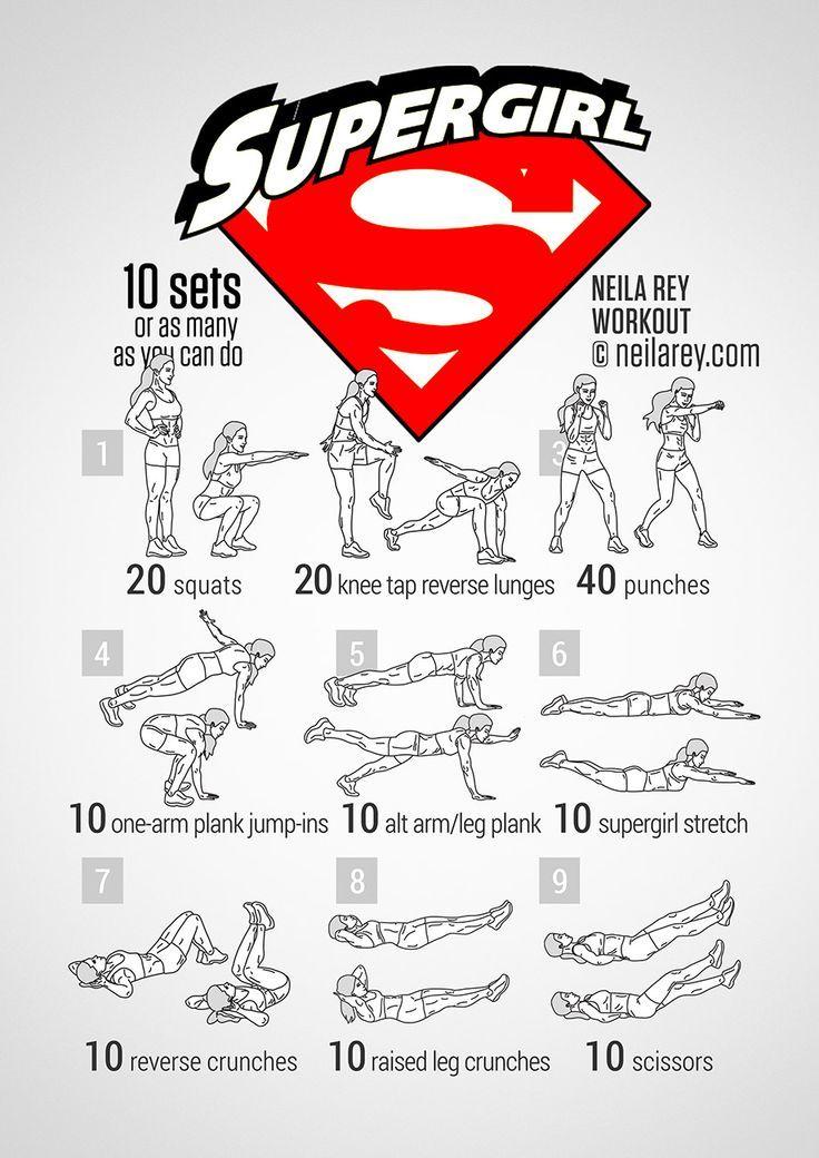 Supergirl workout!
