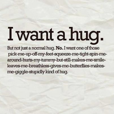 I wanna just hug a tall, strong someone who just can squeeze me till I can't breath... °ω°