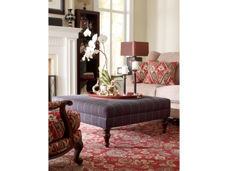 Emory Ottoman By Clayton Marcus.