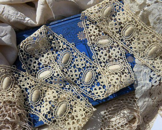 Exquisite European Antique Lace