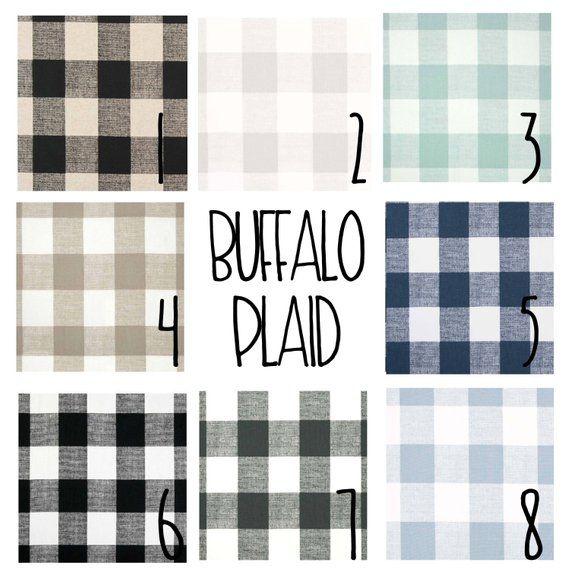 Plaid Curtains Blackout Lined Buffalo Plaid Free