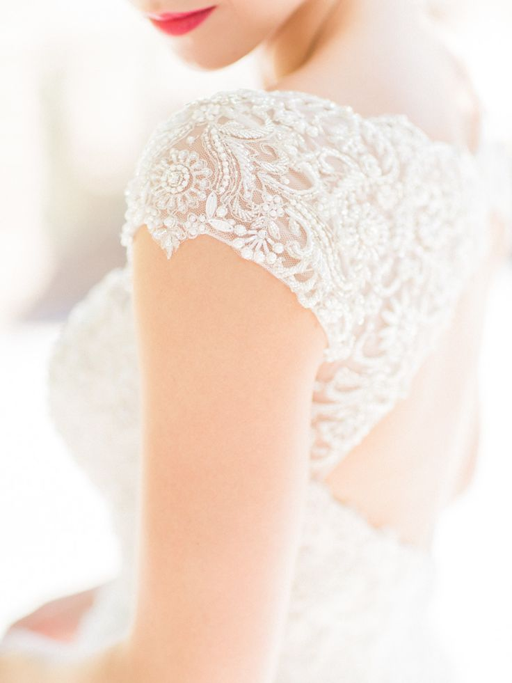 White lace wedding dress - Photography: Koman Photography - komanphotography.com Wedding Dress: Casablanca Bridal - casablancabridal.com // Pinned by Dauphine Magazine x Castlefield - Curated by Castlefield Bridal & Branding Atelier and delivering the ultimate experience for the haute couture connoisseur! Dauphine Magazine (luxury bridal and fashion crossover): www.dauphinemagazine.com, @dauphinemagazine on Instagram, and @dauphinemag on Pinterest • Visit Castlefield: www.castlefield.co