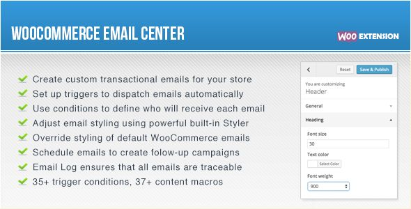 WooCommerce Email Center - CodeCanyon Item for Sale