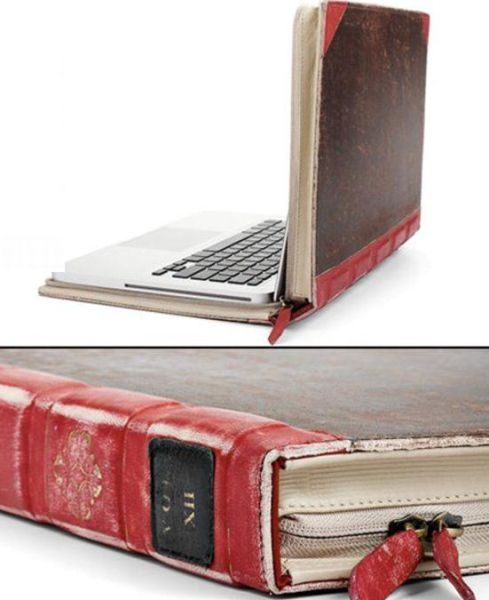 Classic literature laptop case